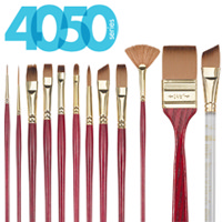 4050 Heritage Best Synthetic Sable Brush