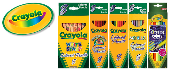 colored pencil sets - Crayola Write Start Colored Pencils